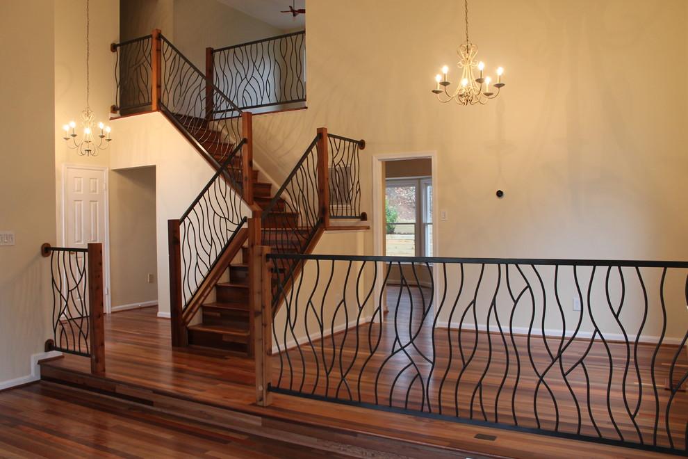 楼梯护栏装修效果图