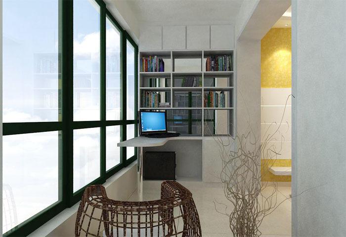 新闻资讯 技术资料         阳台空间小房间装修时应该要先进行设计